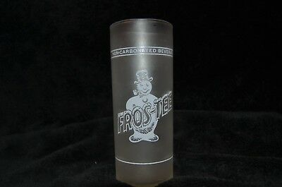 One vintage Fros-Tee Syrup Line Soda Fountain Glass