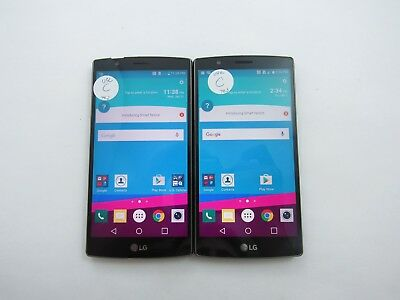 Lot of 2 LG G4 US991 Unknown Check IMEI 4C 11