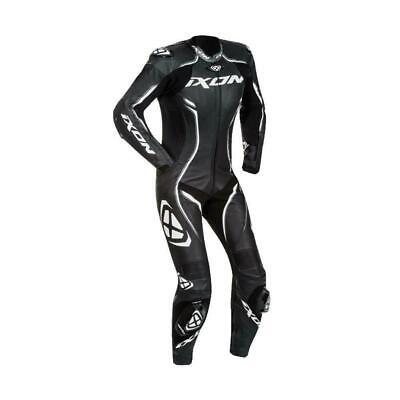 Ixon Ladies Vortex Race Spec One Piece Leather Motorcycle Suit Ce Approved