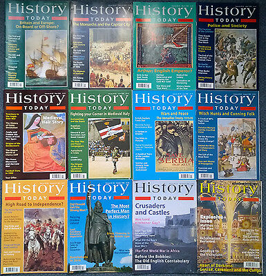 HISTORY TODAY magazines FULL YEAR 1999  x12 (twelve) issues