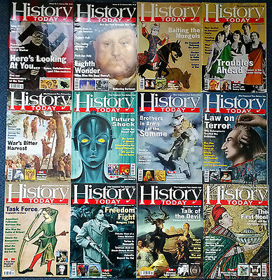 HISTORY TODAY magazines FULL YEAR 2006 x12 (twelve) issues