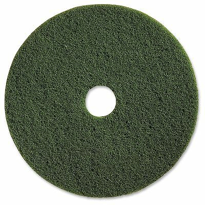 "Genuine Joe 17"" Scrubbing Floor Pad - 5/carton - Fiber - Green (gjo90317)"