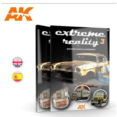 AK Interactive Extreme Reality 3 - Weathered Vehicles And Environments Book # AK