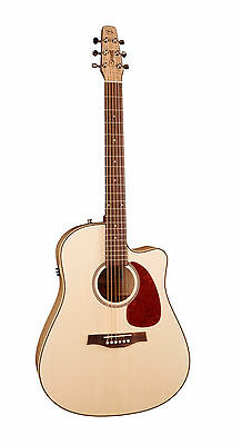 Seagull Performer CW Flame Maple QIT QI Acoustic Electric BAG CAPO & TUNER