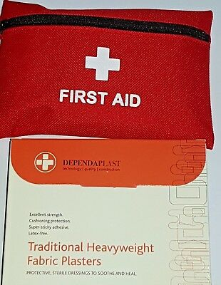 car emergency First Aid Kit Medical Pouch Bag Travel Holiday survival pouch home