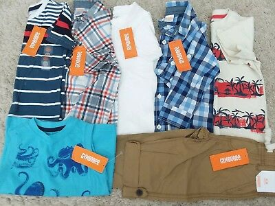 *NEW* Gymbroee little boy 7 pcs Spring/Summer lot size 18-24 months 2T Birthday