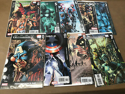The Ultimates 2 issues 2 3 4 5 6 7 10 11 13 Marvel Comic Lot