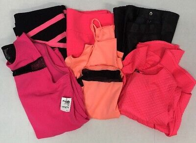 Women's 1X Plus Size Lot of 6 Club / Night Wear, Neon Black, Dresses Skirts
