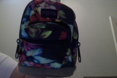 Jansport Expressions MINI Backpack Multi Garden Delight Great for BABY PRECIOUS