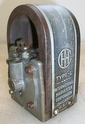 IHC Model L MAGNETO Low Tension Old Gas Engine HOT MAG No. 118391