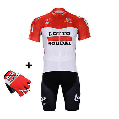 New 2018 Lotto Soudal Jersey Bib Hobby Set Kit Cycling Tour De France  Greipel ee0520809
