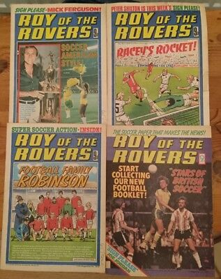 Full set of Roy of the Rovers Comics November 1978