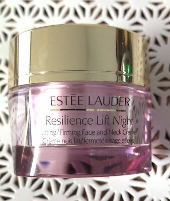 Estee Lauder Resilience Lift Firming/Sculpting Face Night Cream 1.0oz Full Size