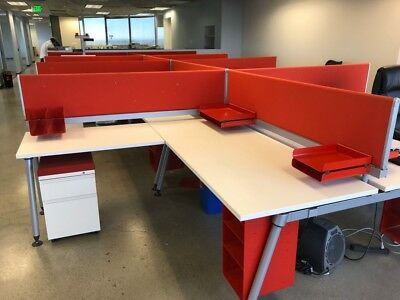 Late Model Herman Miller 6'x6' Office Cubicles Workstations
