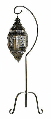 Gallery of Light - Moroccan Candle Lantern With Stand