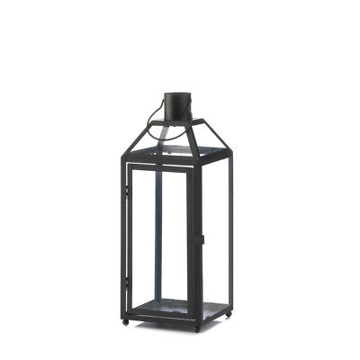 Gallery of Light - Midtown Medium Black Lantern