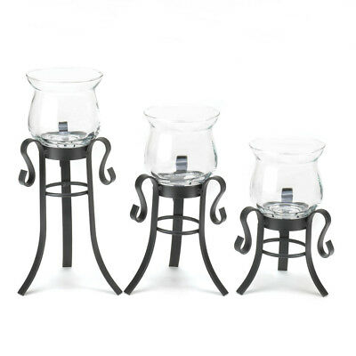Gallery of Light - Allure Candle Stand Trio