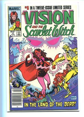 Vision And The Scarlet Witch #5 Hi Grade Electrifying Cover Canadian Price Varia