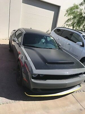 2018 Dodge Challenger Demon 2018 Dodge Demon!! Destroyer Grey with Painted Black Satin Pkg, Brand New!!