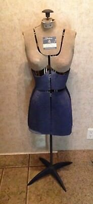Vintage Fairloom Adjustable Dress Form Mannequin with Stand, Size A