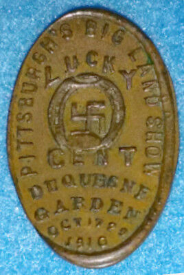 1910 PITTSBURGH'S BIG LAND SHOW, elongated penny, PEN-PIT-2(4)