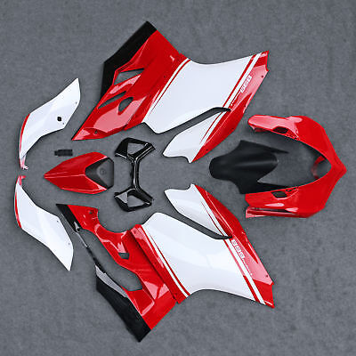 ABS Injection Fairing Bodywork Set Fit For Ducati 899 1199 Panigale 2012-2014 13