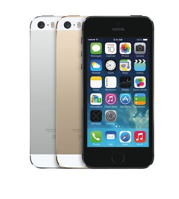 New AT&T Apple iPhone 5s 16/32/64GB Unlocked Sealed in Box Smartphone