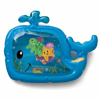 Pat and Play Water Colorful Mat BPA Free 6 Floating Sea Friends, Fill With Water