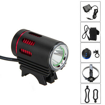 3000LM L2 LED MINI Front Mount Bike Bicycle Light Headlight+Battery Pack+Charger