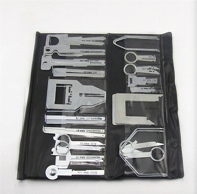 38Pcs Car stereo removal key Set Tool Kit For Car GPS CD Player Radio Head AU