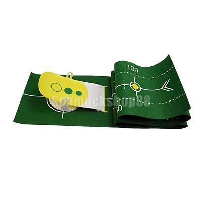 Indoor Golf Putting Set Putt-Training Putting Matte mit Putter Übungsmatte