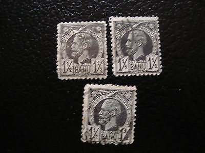 romania - stamp yvert and tellier n° 57 x3 obl (A9) stamp romania