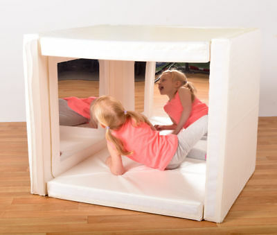 Soft play mirror den, also good for just as soft play mattresses for fun