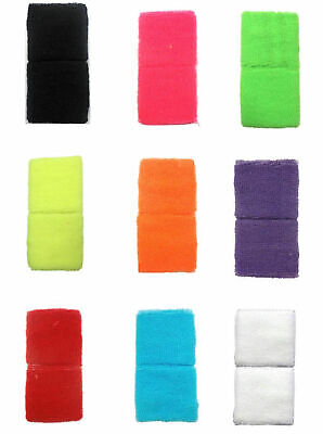 Kids Neon Childrens Boys Girls Neon Wristbands Sweatbands Fancy Dress.