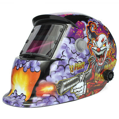 Solar Auto Darkening Welding Helmet Arc Tig Mig Mask Grinding Welder Shield Mask