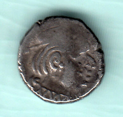 India 2000 Years Old Extremely RARE Western Kshatrapas Silver Ancient Coin 630