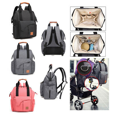 Convient Multifunction Mummy Diaper Nappy Backpack Newborn Baby Changing Bag Hot