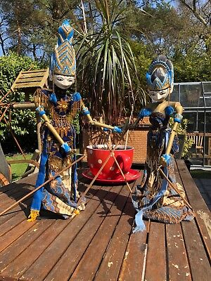 Indonesian Rod Theatre Puppets