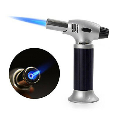Kitchen Upgraded Culinary Butane Torch Food Cooking Creme Brulee Blow Torch BBQ