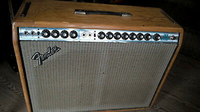 Fender Twin Reverb Silverface Bj. 1977, fully serviced