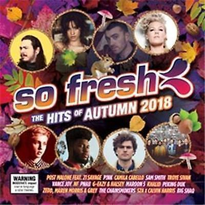 So Fresh The Hits Of Autumn 2018 Various Artists Cd New