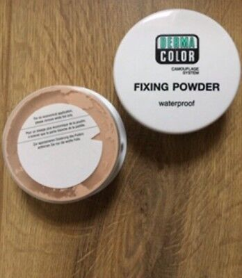 BRAND NEW~KRYOLAN DERMA COLOR FIXING POWDER~ P5- Water Proof Camouflage