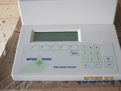 NICE Mettler Toledo FP90 Central Processor w/FP82HT Hot Stage - Very Good