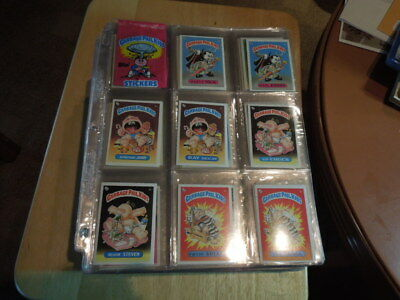1985-88 Garbage Pail Kids Topps  GPK  series 1 U.K.- 2 to 15 USA complete sets