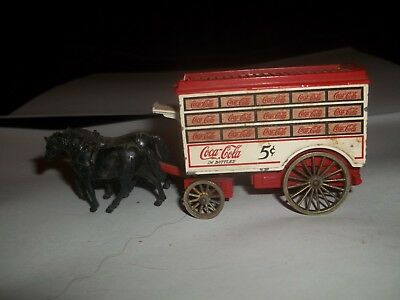 Coca Cola Horse Drawn Delivery Truck (Drawers)