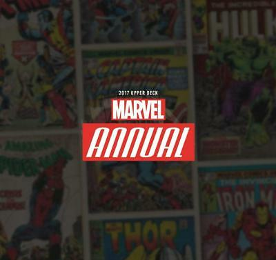 Marvel Annual Trading Cards Box  (Upper Deck 2017)
