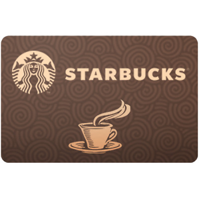 Starbucks Gift Card $5 Value, Only $4.80! Free Shipping!