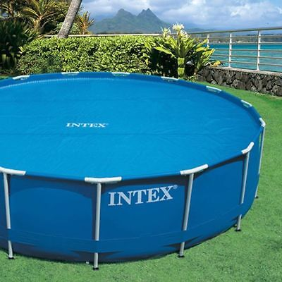 Intex Solar Pool Cover for 12 ft Frame or Easy Set Pools with Carry Bag