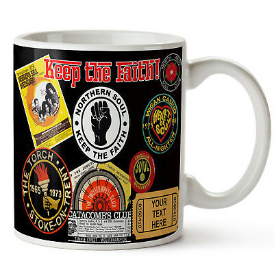 Personalised Mug Northern Soul Dad Grandad Music Fathers Day Birthday Gift KS65