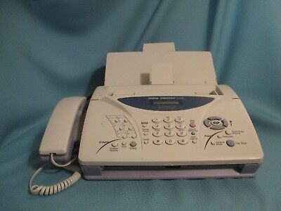 Brother IntelliFAX 1270e - Plain Paper Fax Machine, Phone, Copier Used AS IS